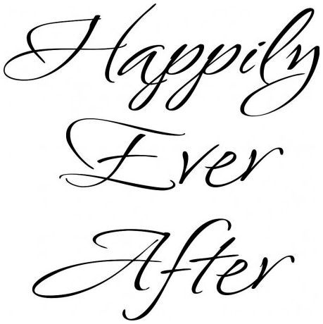 Happily ever after wallsticker wallstickers
