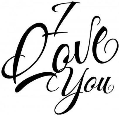 I love you wallsticker wallstickers
