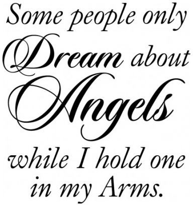 Some people only dream of angels wallsticker wallstickers