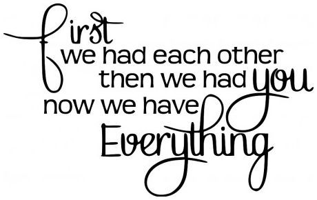 First we had each other wallsticker wallstickers