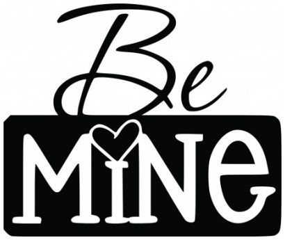 Be mine wallsticker wallstickers