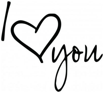 I love you 2 wallsticker wallstickers