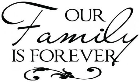 Our family is forever wallsticker wallstickers
